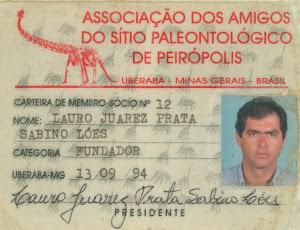 ASSOCIAÇÃO DOS AMIGOS DO SÍTIO PALEONTOLÓGICO DE PEIRÓPOLIS.