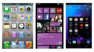 Android 4.1 vs iOS 6 vs Windows Phone 8