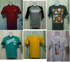 Sablon & Bordir Kaos, Polo, Sweater & Jersey