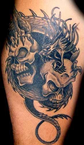Tattooz Designs: Skull Tattoo Designs for Men| Pretty ...