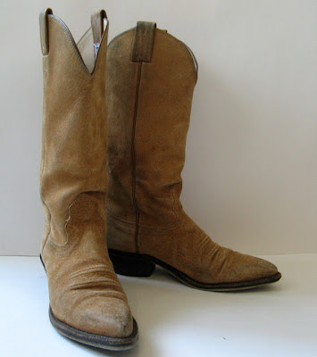 Good closet nocona womens brown leather cowboy boots womens size 6