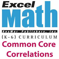 Excel Math Common Core Correlations