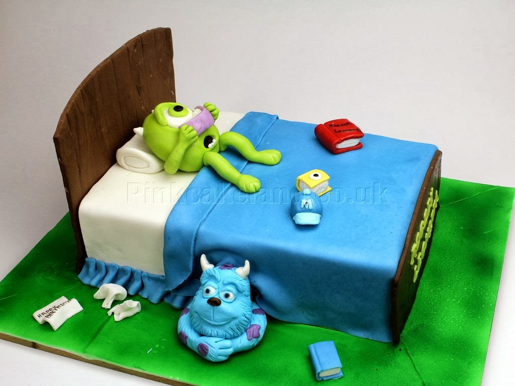 Monsters Inc Birthday Cake in London
