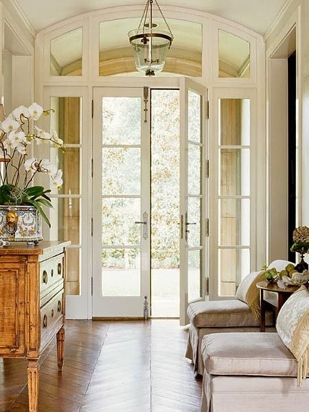 ... the parlor entrance and the dining room entrance which means they will have a transom above the door track and I want them to resemble french doors . & Pocket Doors Part 1