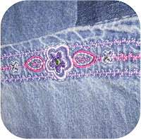 ProsperityStuff Denim Jeans Quilt detail 1