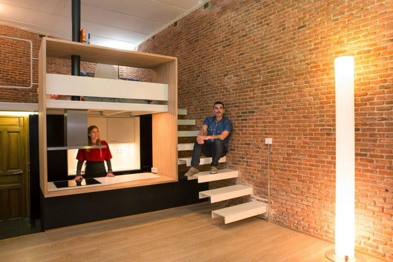 Loft Madrid, Reforma vivienda Madrid, Rehabilitación Madrid, Arquitectos Madrid