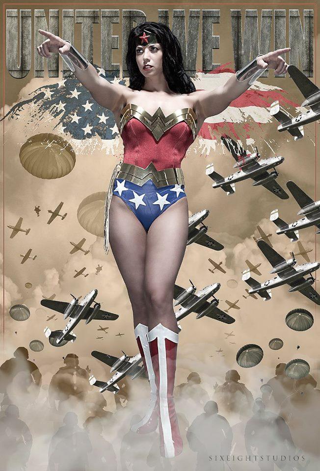 Margie Vizcarra Cox - Wonder Woman!