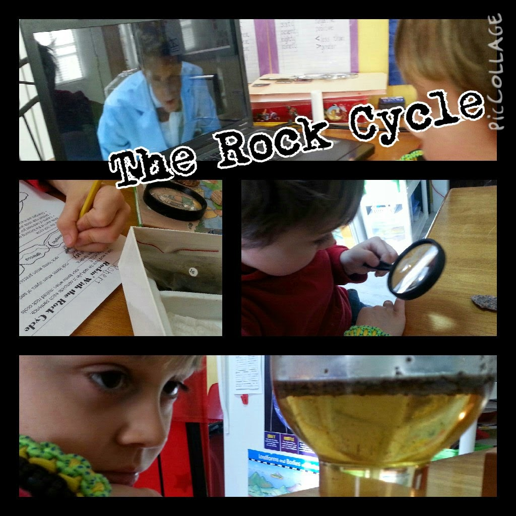Second Grade Science Rock Cycle