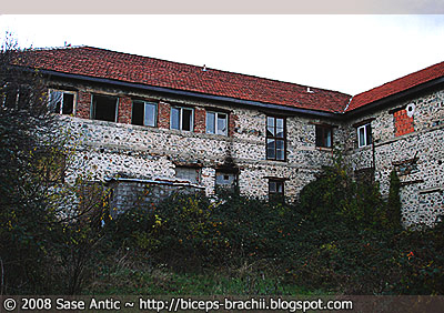 Old Building: Agriculture Collective 'Ljuboten' in Vratnica