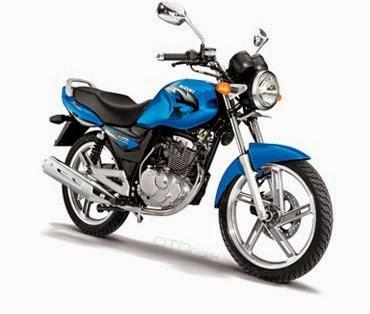 gambar motor suzuki thunder biru