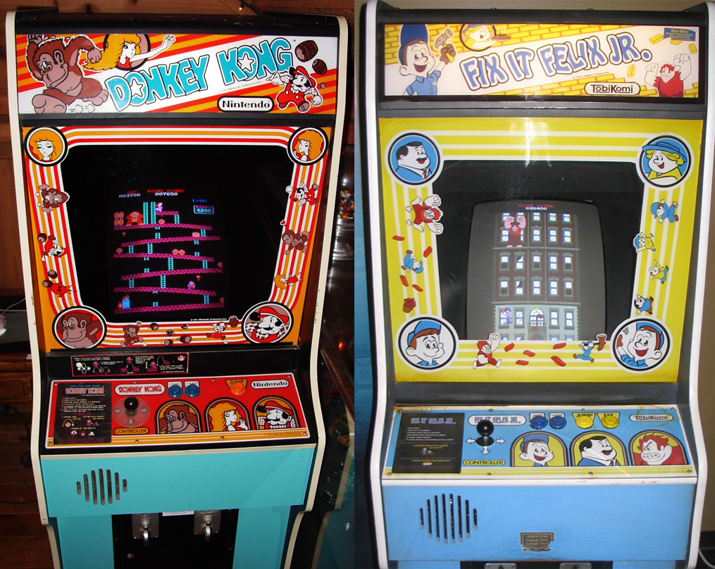 Frisch's Big Blog: Donkey Kong vs. Fix-It Felix Jr.