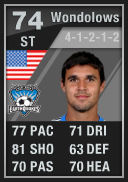 Chris Wondolowski (IF1) 74 - FIFA 12 Ultimate Team Card