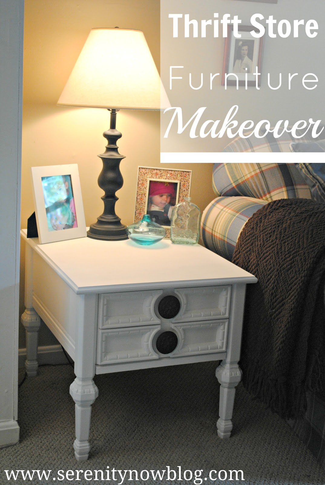 Thrift Store Couches Serenity Now Thrift Store Furniture Makeover End Tables