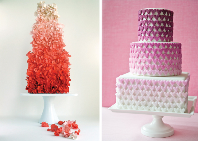 15 Fabulous Ombre Wedding Cakes