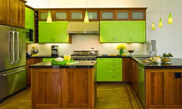 Desain Ruang Dapur Mungil Minimalis Modern yang Cantik