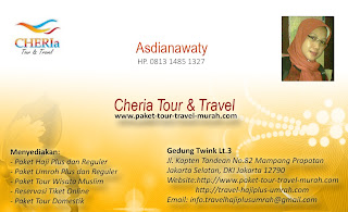 Kontak Cheria Travel Paket Tour Travel Murah - Asdianawaty 081314851327