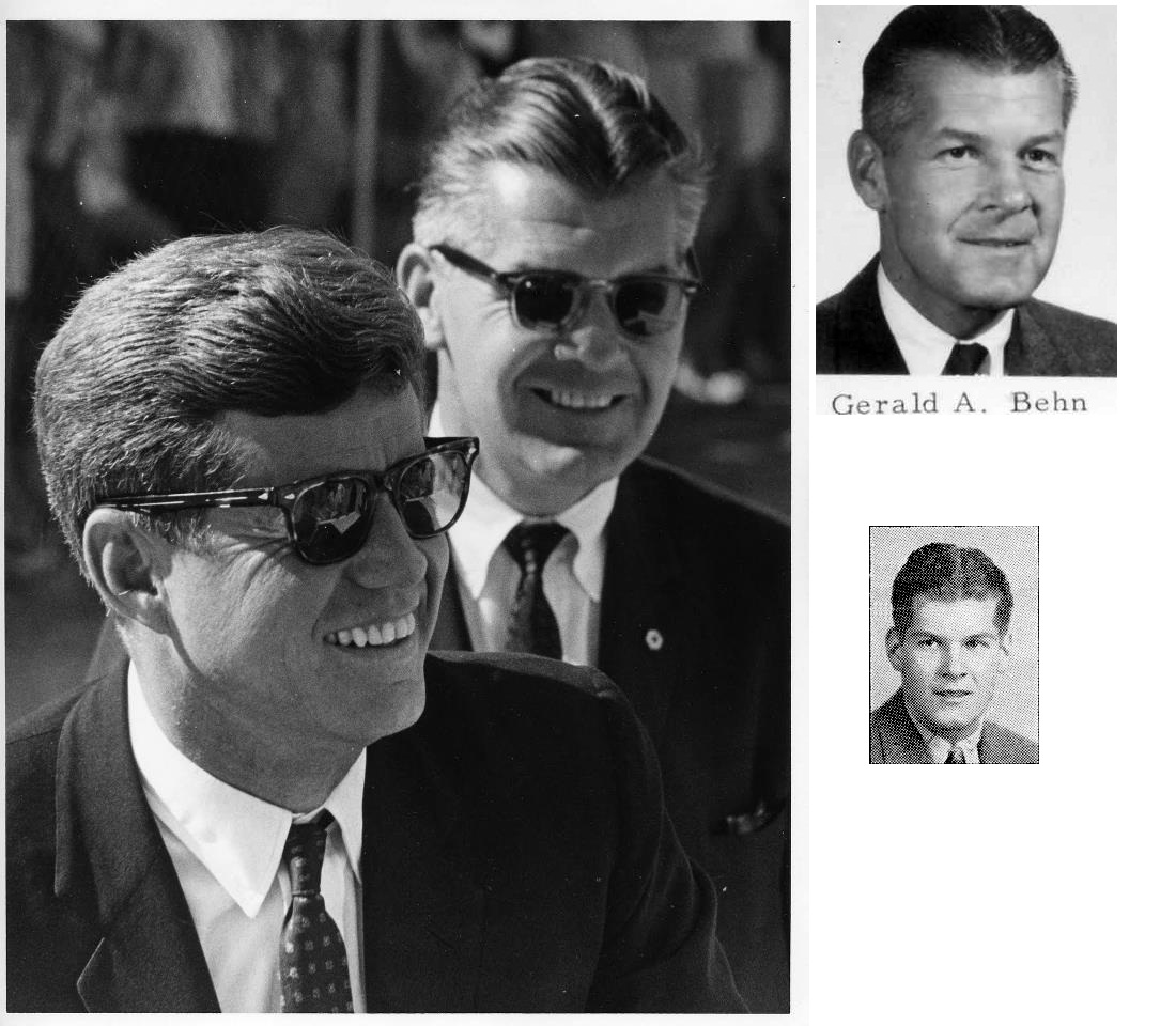"SAIC Gerald A ""Jerry"" Behn, JFK/ LBJ"
