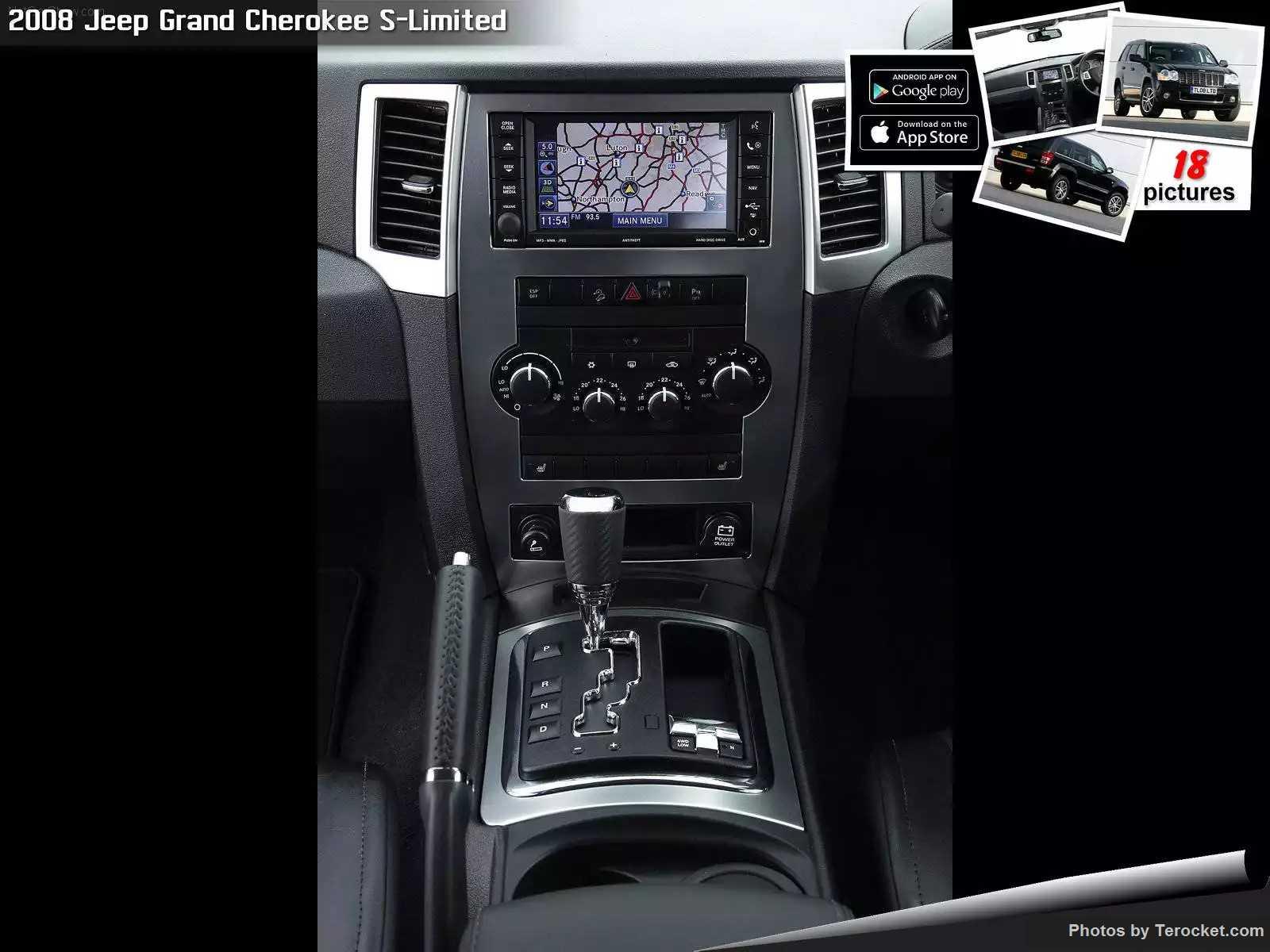 Hình ảnh xe ô tô Jeep Grand Cherokee S-Limited UK Version 2008 & nội ngoại thất
