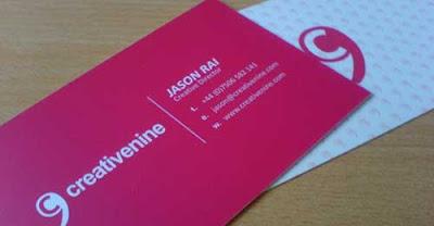 ejemplos diseño de tarjetas vista color rosado