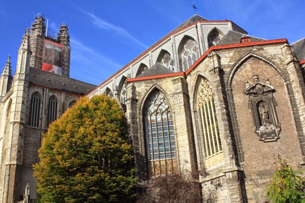 Sint Baafskathedraal in Ghent