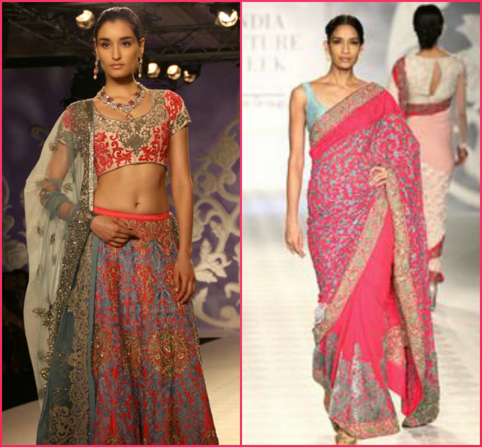 Varun bahl indian couture week 2014
