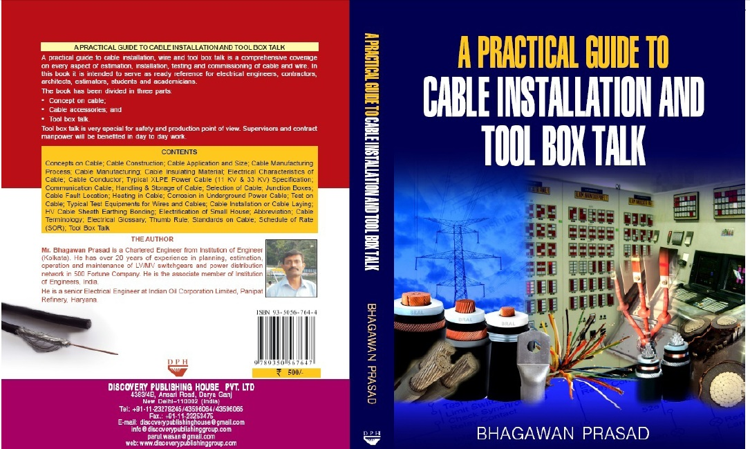 A Practical Guide To Cable Installation And Tool Box Talk