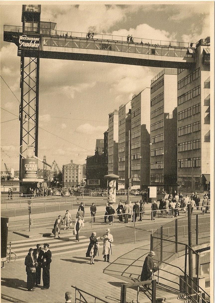 Gondolen restaurant Stockholm 1950s