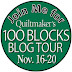 Quiltmaker's 100 Blocks Volume 12 Blog Tour and My Day
