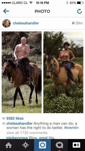 Chelsea Handler Topless Horse ride, Chelsea Handler Topless, Chelsea Handler nipples, Chelsea Handler nude