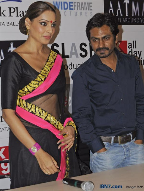 Bipasha and Nawazzudin promote AATMA in Kolkata