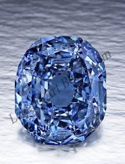 Gray Blue Kohinoor Diamond