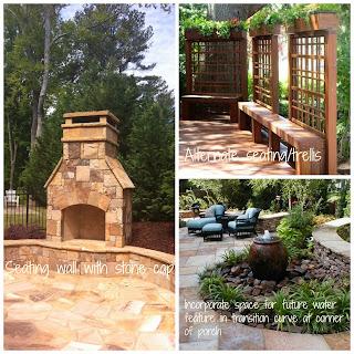stone-fireplace-seating-wall, bluestone-patio