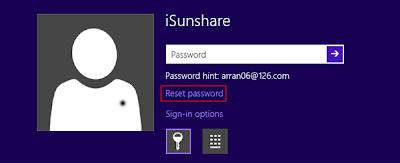 reset disk recover windows 8 password
