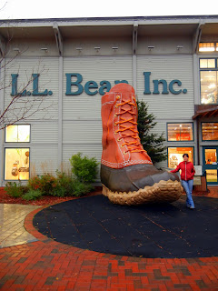 LL Bean flagship store in Freeport, Maine
