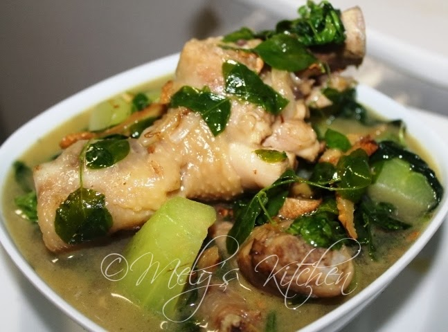 how to cook tinolang manok in tagalog