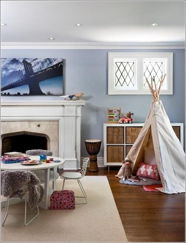 Décorez la chambre ou la salle de jeux de votre enfant avec un tipi !