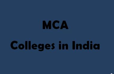 Top MCA Colleges in India