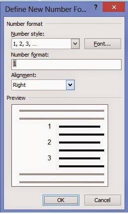 dilaog number format