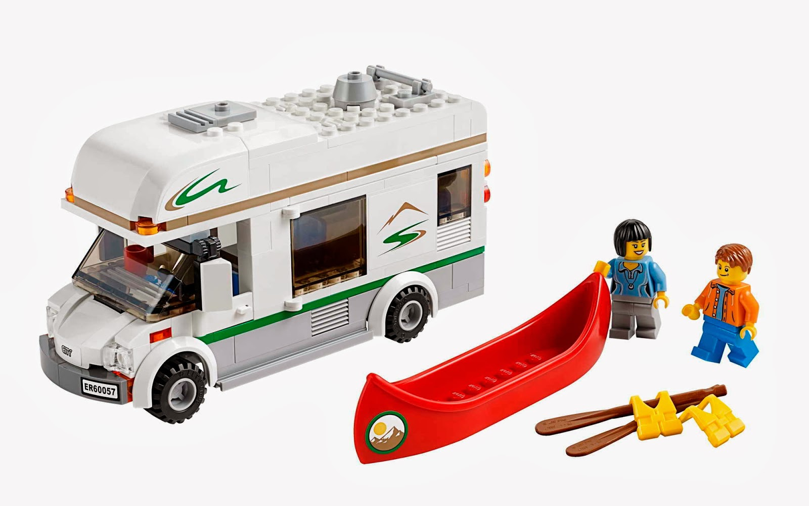 lego gossip 111113 lego 60057 camper van box art and picture. Black Bedroom Furniture Sets. Home Design Ideas