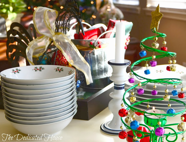 christmas touches and day 4 of the 'tis the season christmas home tour