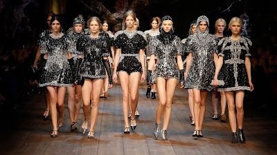 Dolce&Gabbana Winter 2015 Womens Fashion Show video