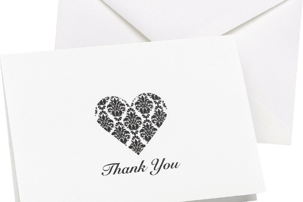 Writing A Wedding Gift Card : What To Write In A Wedding Gift Thank You Card - dominos kerrville tx