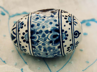 Holland Dutch Delft Easter Egg