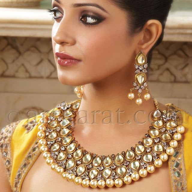 Bridal Collection Jewellery: Chicboutique: Art Karat's 2012 Bridal Collection: Mumtaz