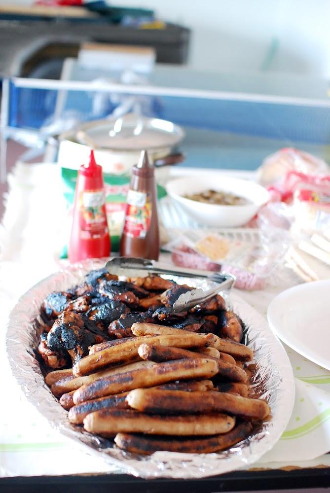 Aussie Australian BBQ Sausage Sizzle Chicken