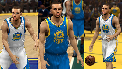 NBA 2K13 Stephen Curry Warriors Player Update
