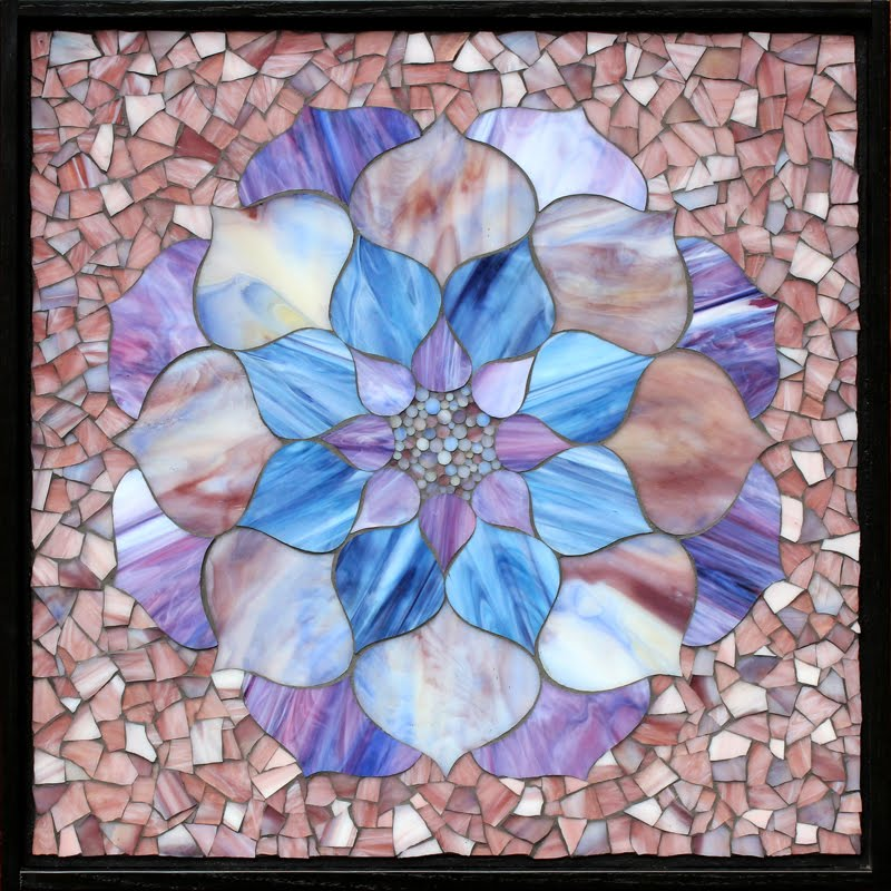 Purple and Blue Combination Lotus Flower