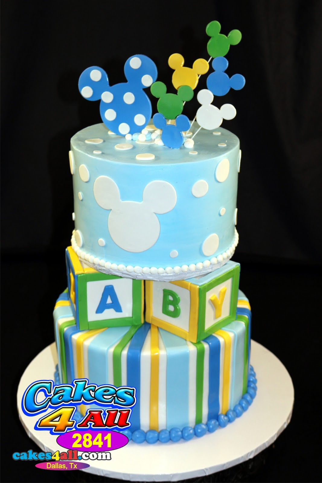 Mickey Mouse Baby Shower Cake Images : Pics For > Baby Mickey Mouse Baby Shower Cakes