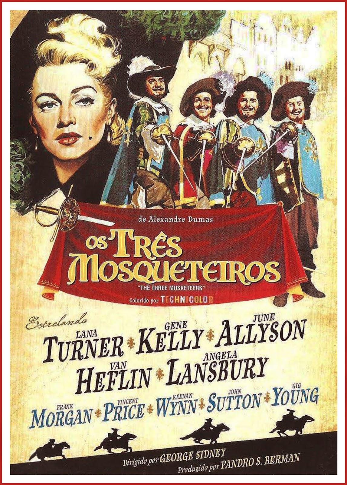 Os Três Mosqueteiros – Legendado (1948)