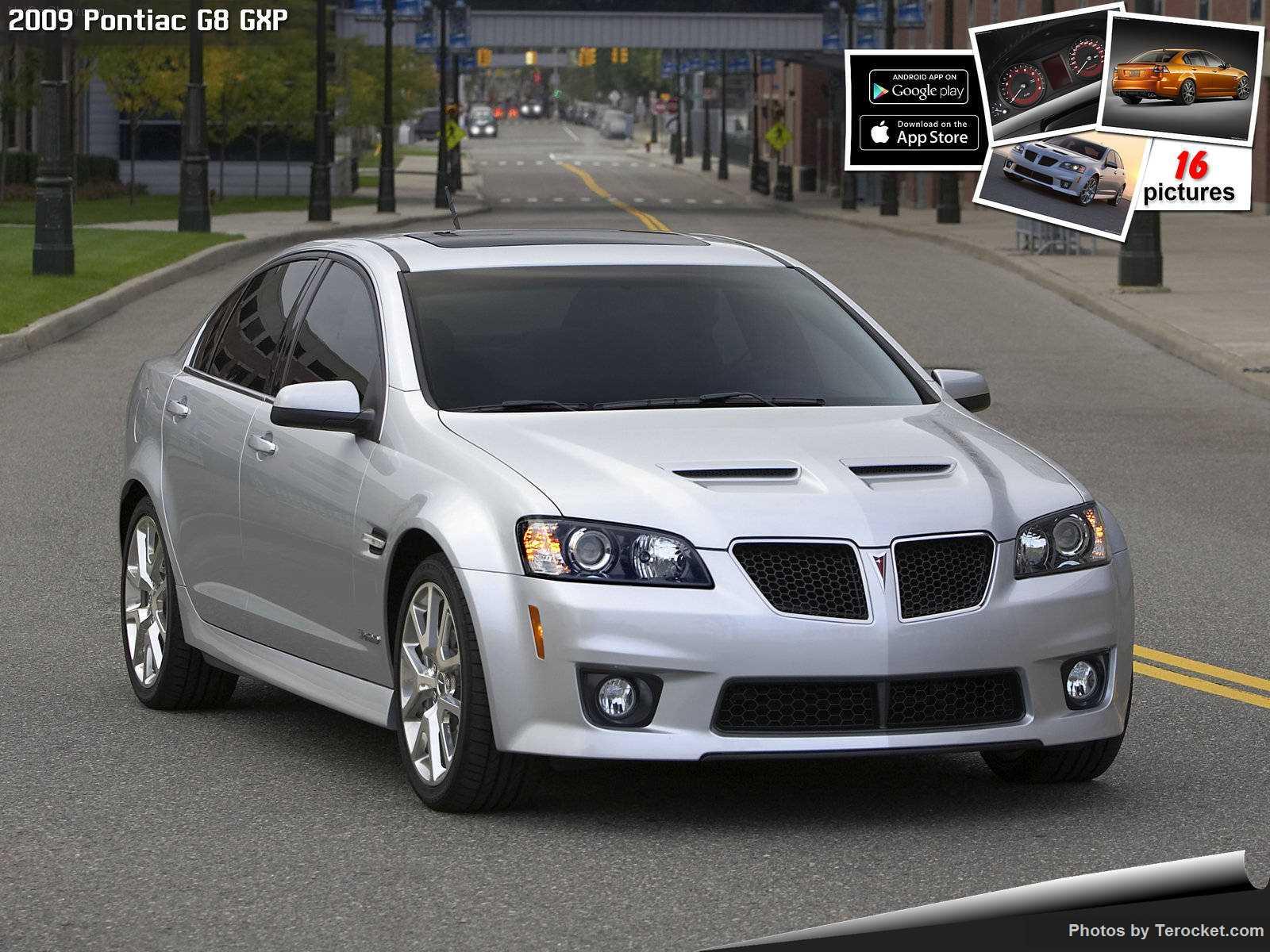 Hình ảnh xe ô tô Pontiac G8 GXP 2009 & nội ngoại thất